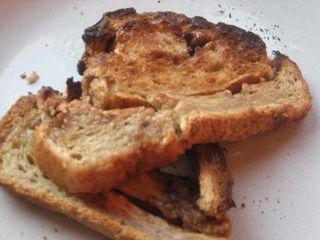 Cinnamon swirl toast